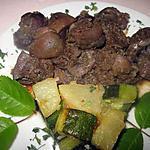 recette Rognons de porc au  Massalé.