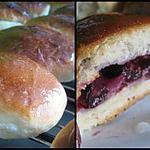 recette Jagodzianki (petits pains sucrés polonais aux myrtilles)