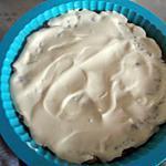 recette crumble avec creme vanille/caramel