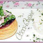 recette Bouchées à la reine au jambon