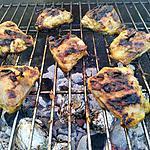 recette Grillades de poulet marinade (citron et curry)