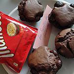 recette muffins chocolat et maltesers