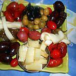Tapas chorizo,saucisse,boudin,fromage