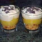 recette verrine façon tarte au citron (recette de caro aux fourneaux blog marmiton)