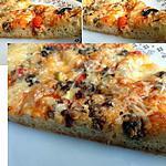 recette pizza liquide à la viande hachée