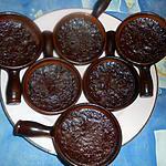 recette Petits flans au chocolat
