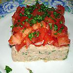 recette Tartare de tomates au thon