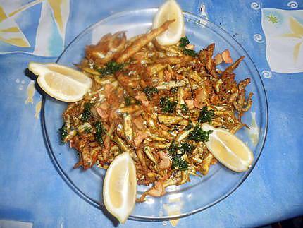 Recette de friture d perlans a l ail - Enlever odeur de friture ...