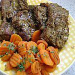 recette paleron aux carottes