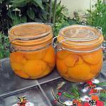 recette Abricots au sirop stérilisés.