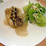 cuisse de poulet aux pommes de terre et pruneaux