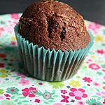 recette muffins choco coco noisette