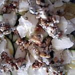 recette Salade de courgettes à la mozzarella
