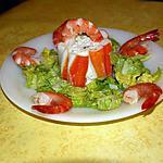 recette CHARLOTTE DE LA MER  de la cuillère aux mille délices (revisitée)