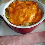 recette Gratin de macaroni à la mimolette