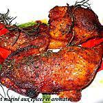 recette poulet aux épices et aromates