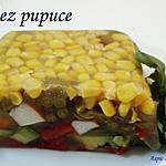 recette aspic de légumes