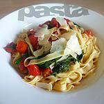 recette Tagliatelles aux tomates cerises