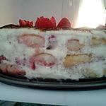 recette tiramisu au fraise