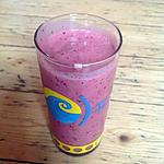 recette Smoothie pastèque, fruits rouge (smoothie maker)