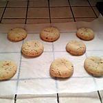 recette Cookies aux pépites de nougatine