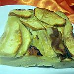 recette Flognarde aux pommes.