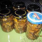recette Champignons Pleurotes stérilisées.