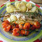 recette truite arc-en-ciel en papillote(recette de Laurent Mariotte)