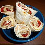 recette Wraps au thon et comté
