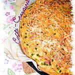 recette Quiche aux carottes, petits pois et lardons De Cathy R.