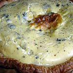 recette Tarte au roquefort