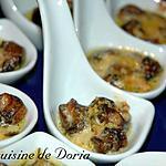 recette Mignardises d'escargots