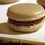 recette Macarons au caramel et sel de Guerande