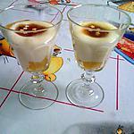 recette crème (flan) rapide vanille/exotique sans oeufs