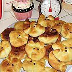 recette Briochettes cochon
