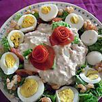 salade composée sauce au thon