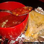 Samoussa de Boeuf aux saveurs exotiques et sauce aigre-douce à l'asiatique