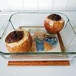 recette Pommes au four aux spéculos.