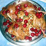 recette Confits de canard aux cerises