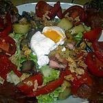 recette Salade composée façon MARCVIP