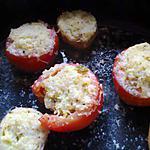 recette pomme de terre nouvelle et tomate farci aux courgettes