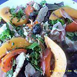 recette salade d'été au coeur de surimi