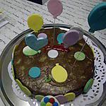 recette gateau d'anniversaire au chocolat,thème ballon