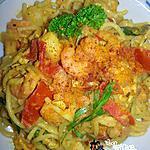recette Spaghetti  terre-mer au curry(73)