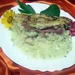 recette Choux - fleurs au jambon gratinés.