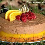 recette Délice au toblerone et marmelade d'oranges