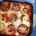 recette Gratin de colin aux aubergines