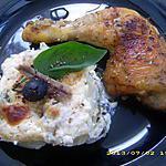 recette poulet rôti aux herbes et son petit gratin niçois