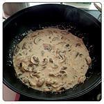 recette Sauce champignons