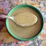 recette Velouté de courgettes aux carrés frais